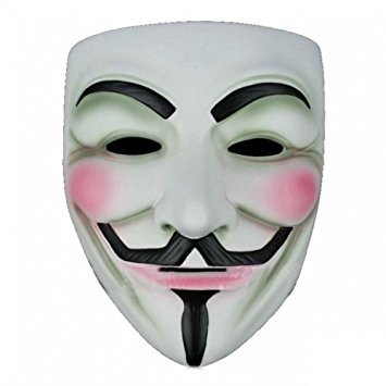 Ray Fawkes Maske - Anonymous (Vendetta)