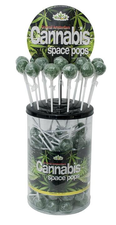 Cannabis Space Pops Lollypop